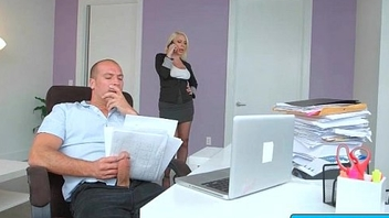 Sexy busty secretary nailed by her boss in the office 24
