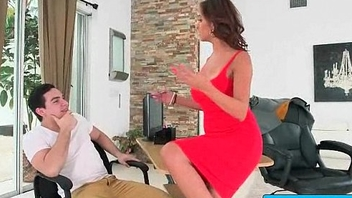 Hot busty secretary nailed by her boss in the office 09