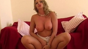 Solo Blonde MILF Babe