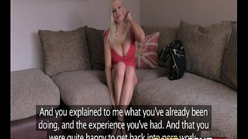 Sublime British First Timer In Casting Couch Audition