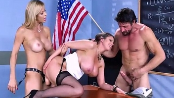 Nailing Ms Chase Part Two - Brooklyn Chase, Alexis Fawx, Tommy Gunn