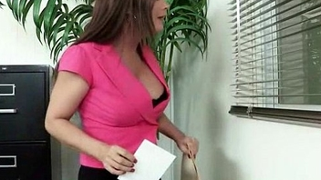 Office hardcore sex play with busty babe 11
