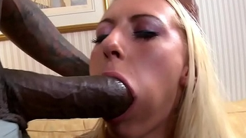 BBC loving eurobabe interracial buttfucked
