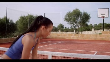 Lesbian Lust Atop The Tennis Court