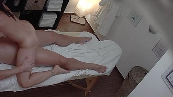 Milf Pounded on Massage Table