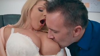 Ms. Chase was willing to allow Mr. Lee to feed his cock the limit her big tits