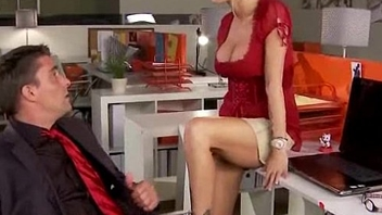 Big Titted Babe Gets Fucked Hard in the Office 12