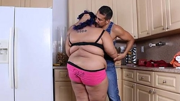 Angry BBW Babe is Calmed and Fucked wits Hubby'_s Friend