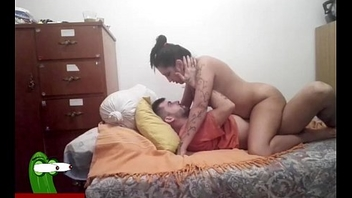 Prostitute carrying-on on him while fucked